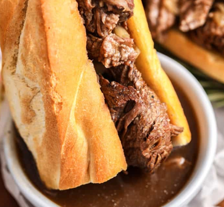 Beef Dip Recipe with Bow River Foods