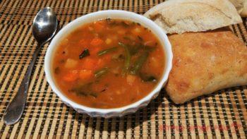 E 4 Hearty Vegetable Soups