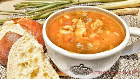 I 4 Spicy Thai Chicken Soups