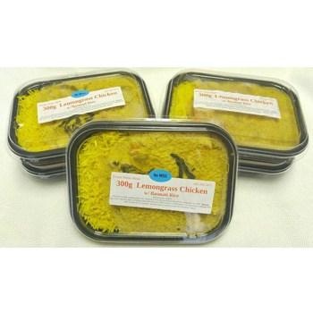 L 5 Lemongrass Chicken Meals