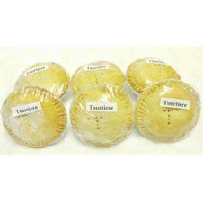 I BOX of 6 TOURTIERE PIES