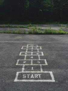 start hopscotch