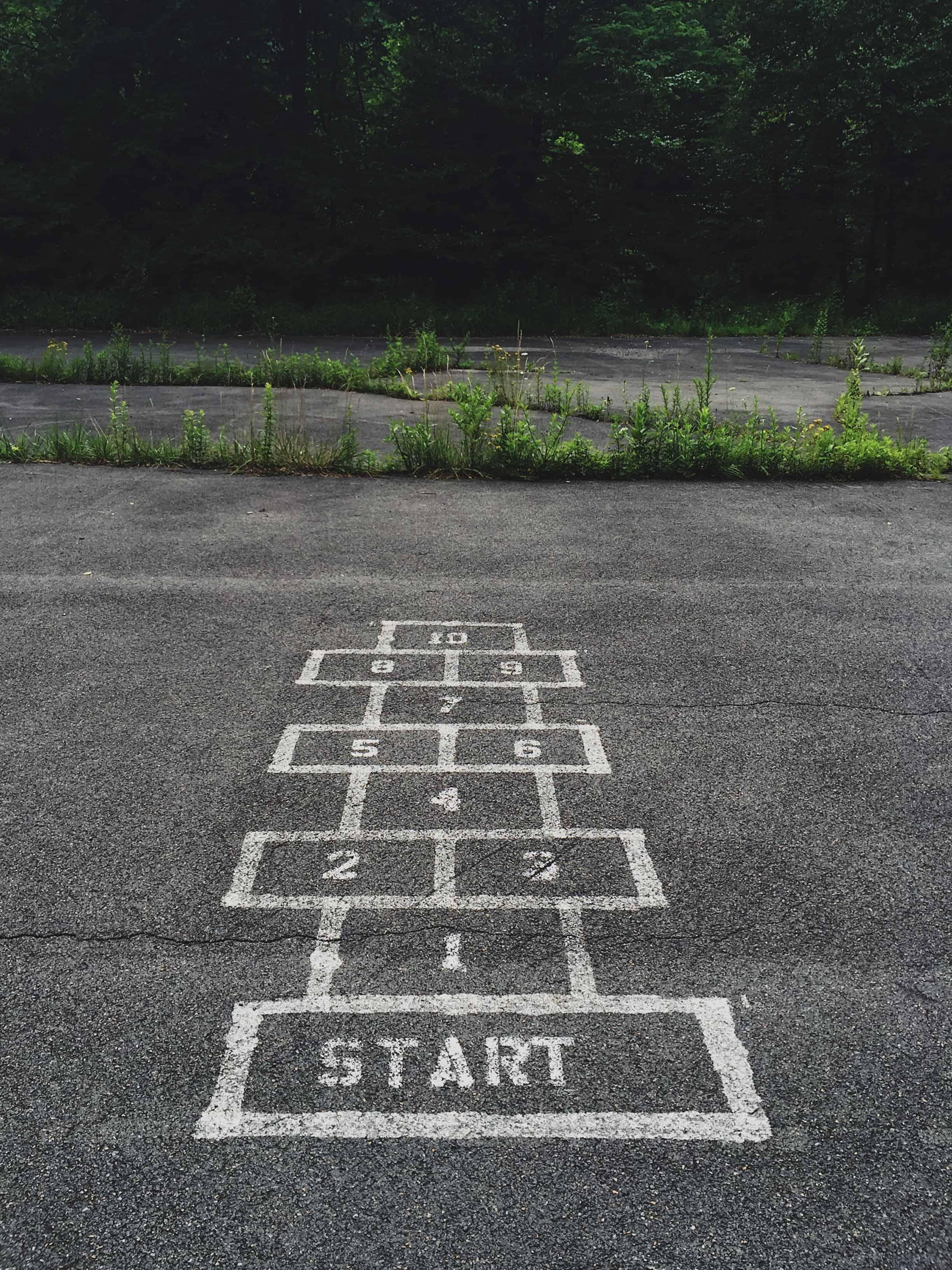start hopscotch