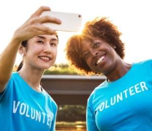 volunteers blue